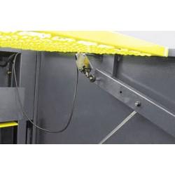 Mechaniczne nożyce gilotynowe 2x2550