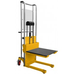 Masztowy wózek paletowy/platformowy P415 z regulowanymi widłami - Masztowy wózek paletowy/platformowy P415
