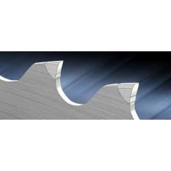 HM-Titan ALU2 carbide tipped band saw blade - Band-saw with cutting edges of sintered carbides HM-Titan ALU2