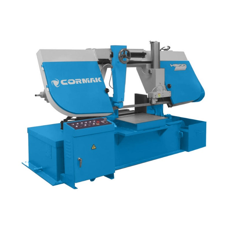 CORMAK H-500 H-600 H-650 H-700 band saws - Metal band-saw CORMAK H-500 H-600 H-650 H-700 WITH EC