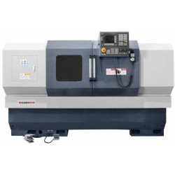 550x1000 CNC lathe with driven tools and C axis - Lathe with driven tools and C axis CNC 550x1000