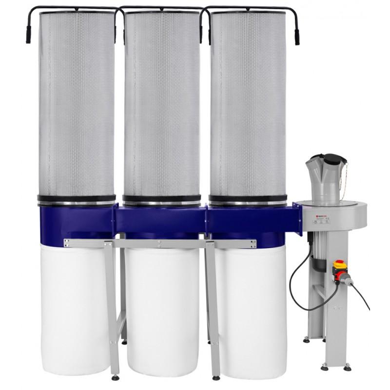Odciąg do wiórów CORMAK FM350 filtr pyłowy -