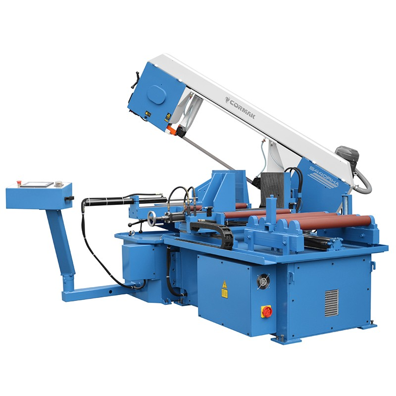 Automatyczna przecinarka taśmowa do cięcia pod kątami CORMAK S-440R HA - Automatyczna przecinarka taśmowa do cięcia pod kątami CORMAK S-440R HA