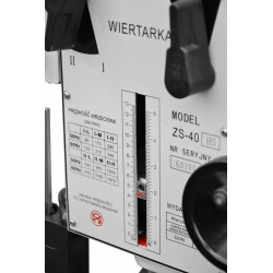 Przemysłowa wiertarka przekładniowa CORMAK ZS-40HS - Przemysłowa wiertarka przekładniowa CORMAK ZS-40HS