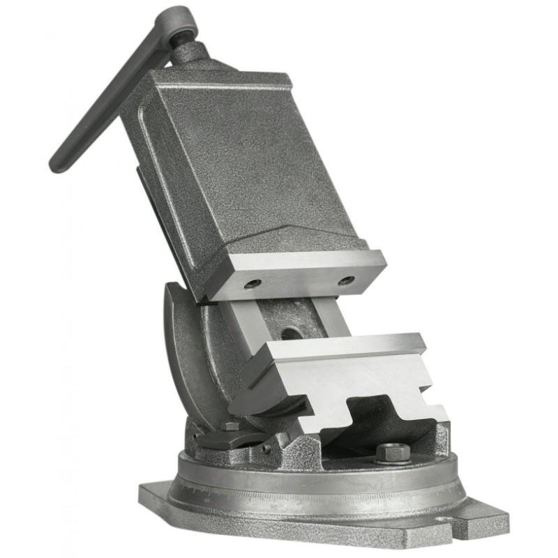 Imadło maszynowe pochylne kołyskowe 125 mm - Imadło maszynowe pochylne kołyskowe 125 mm