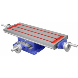 600x240 mm cross table - Cross slide table 600X240 mm