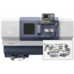 580x1000 CNC lathe for thread and worm cutting - CNC lathe 580x1000 for cutting threds and worm