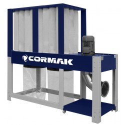 CORMAK DCV6500 ECO chip and sawdust extractor - Dust and chip collector CORMAK DCV6500 Eco