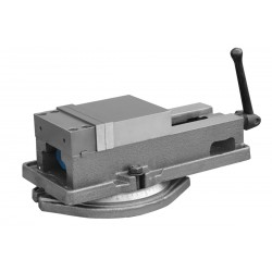 125 mm precision, swivel machine vice - Precise vice 125 mm