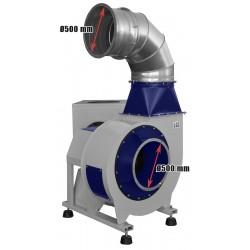Przemysłowy odciąg do pyłów i trocin DC22500 -