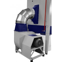 CORMAK DC28000 industrial chip and sawdust extractor - Industrial dust and chip collector DC28000