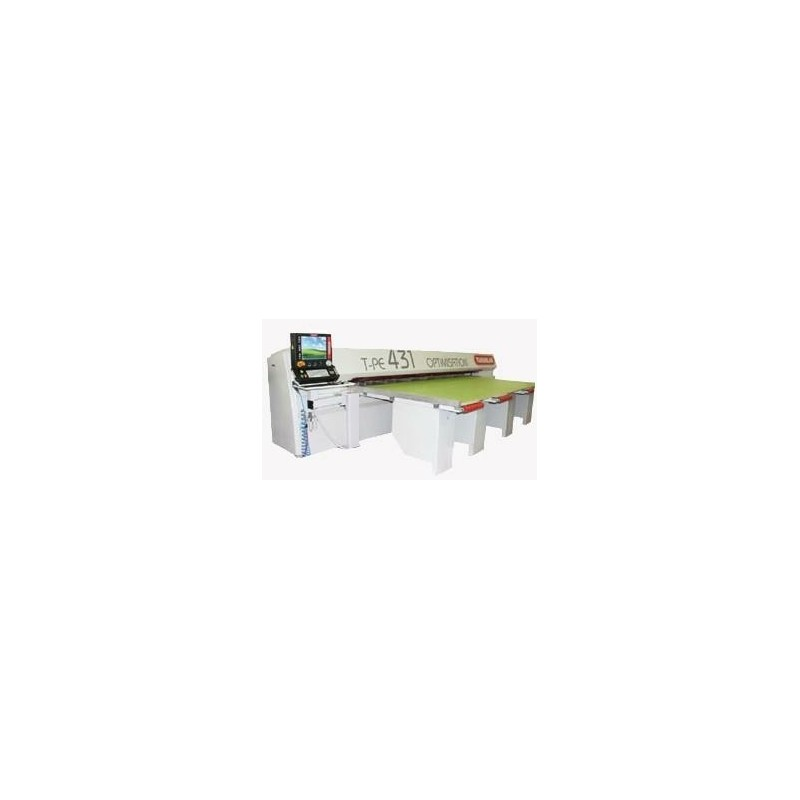 T-PE 431 sliding table saw with optimisation - Panel sawing machine T-PE 431 with optimization