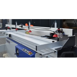 CORMAK MJ3000 sliding table saw with pneumatic clamping -