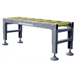 Large 2 m roller conveyor