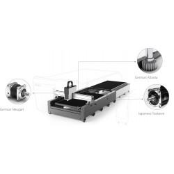 Schneller Glasfaserlaser bei Linearmotoren -