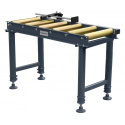 Roller table 1 m 6 rollers...