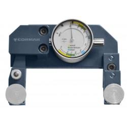 Strain clock gauge