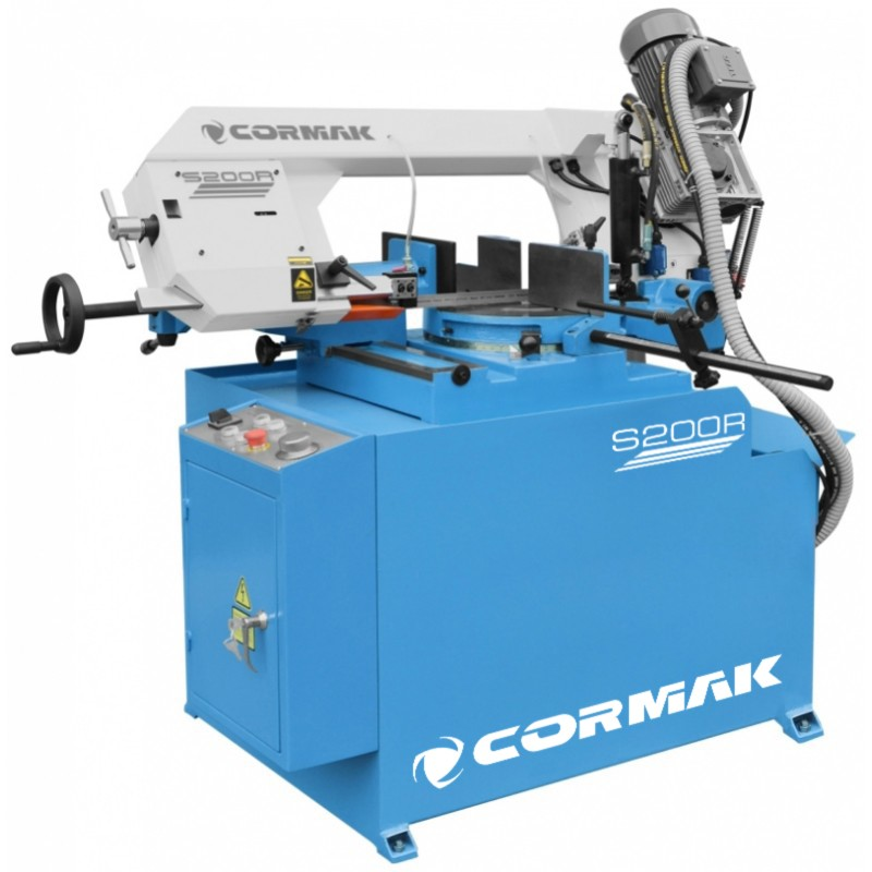 CORMAK Metallbandsäge HBS320 Bandsäge Metallsäge mit Untergestell Metall 2,1 kW