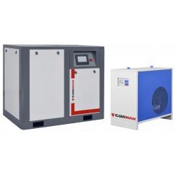 Kompresor śrubowy THEOR 30 Inverter 10 BAR + Osuszacz N30S -