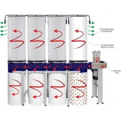 Odciąg do wiórów CORMAK FM470 filtr pyłowy -