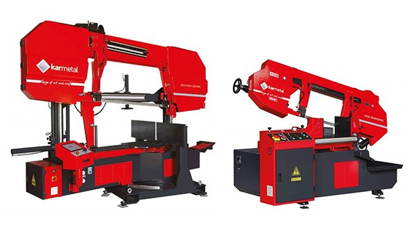KDG semi-automatic band saws